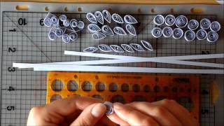 Мастер-класс снежинки из бумаги в технике квиллинг(Посмотрев мастер-класс, Вы быстро научитесь делать такие же чудесные снежинки как показаны на картинке..., 2012-09-09T02:56:08.000Z)