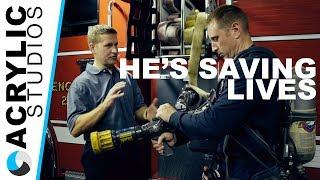 Life Saving Firefighter Invention -  ECAV