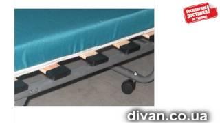 Раскладушка Классик(Раскладушка Классик. Изготовлена из металлической трубы окрашенной порошковой краской в серый цвет. Матра..., 2014-07-01T11:43:42.000Z)