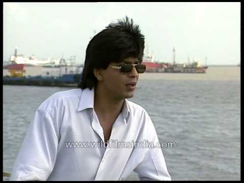 Shah Rukh Khan lights up and talks about his films - in younger days