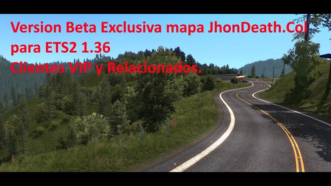 Informativo, nueva Versión Beta del mapa 1.36…