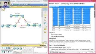 6.2.2.4 - 7.2.2.4 Packet Tracer - Configuring Basic EIGRP with IPv4