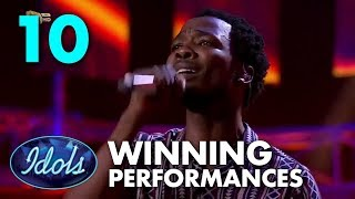 10 MIND BLOWING WINNER Auditions And Performances | Idols Global