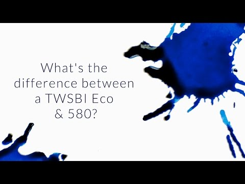 What's The Difference Between A TWSBI Eco & 580? - Q&A Slices