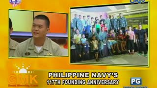 Philippine Navy on its 117th Founding Anniversary