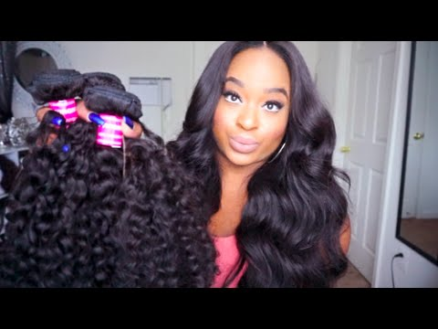 Unice Hair Company  Brazilian Curly  Unboxing