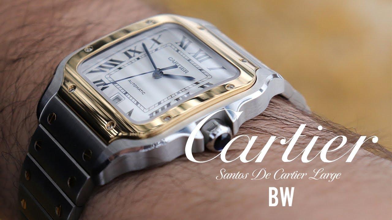 The First Pilot Watch - Santos de Cartier Large