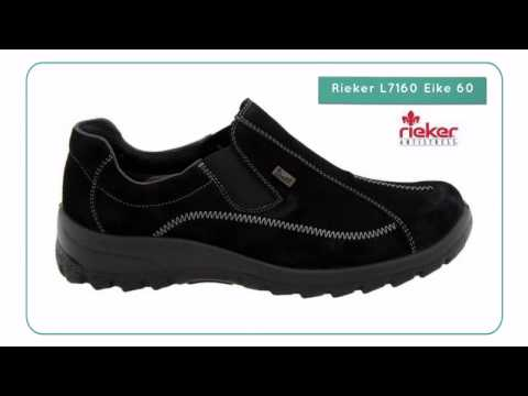 riesiges Inventar echte Schuhe Auschecken Rieker L7160 Eike 60 - Planetshoes.com - YouTube