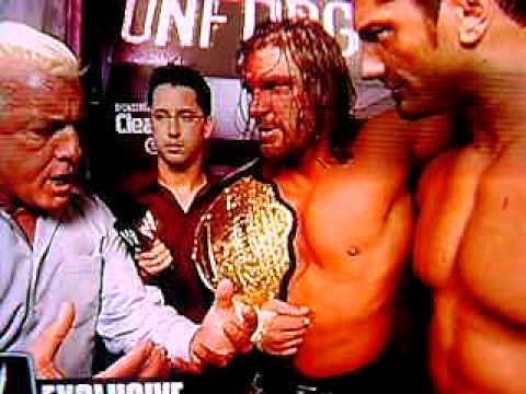 Ric Flair (w / Evolution) Promo: WWE Unforgiven 2004 DVD Extras