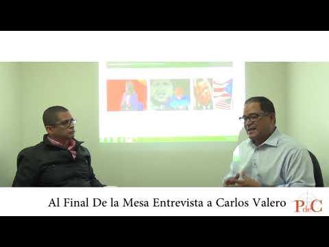 [Al Final de la Mesa] Conversando con el diputado por el partido UN Nuevo Tiempo, Carlos Valero