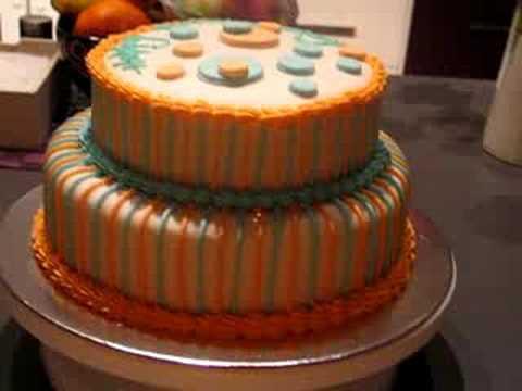 my husbands birthday cake YouTube