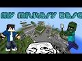I BUILD MYSELF A MILITARY BASE! | Minecraft Pocket Edition 1.0.0.9