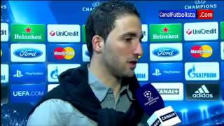 Higuain Real Madrid 3-0 Galatasaray Champions League 03-04-2013