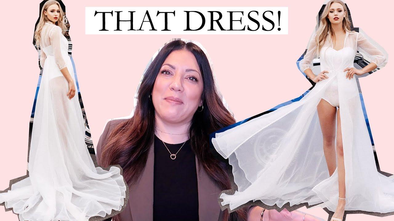 UNIQUE SHEER WEDDING DRESS with BODYSUIT | Naomi Peris Bridal