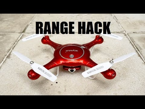 Syma X5UW CONTROLLER HACK Wifi 720P HD Camera FPV RC Drone