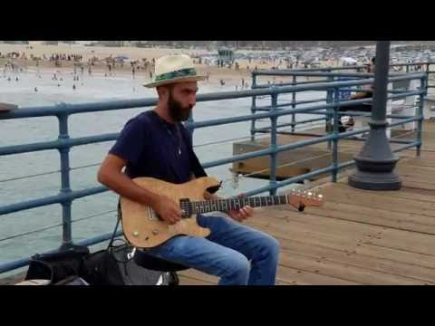 Rafi B Levy Music on The Santa Monica Pier