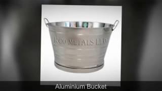 Aluminium Bucket Manufacturer,Suppliers,Exporter in ZAMBIA,KENYA & African Countries