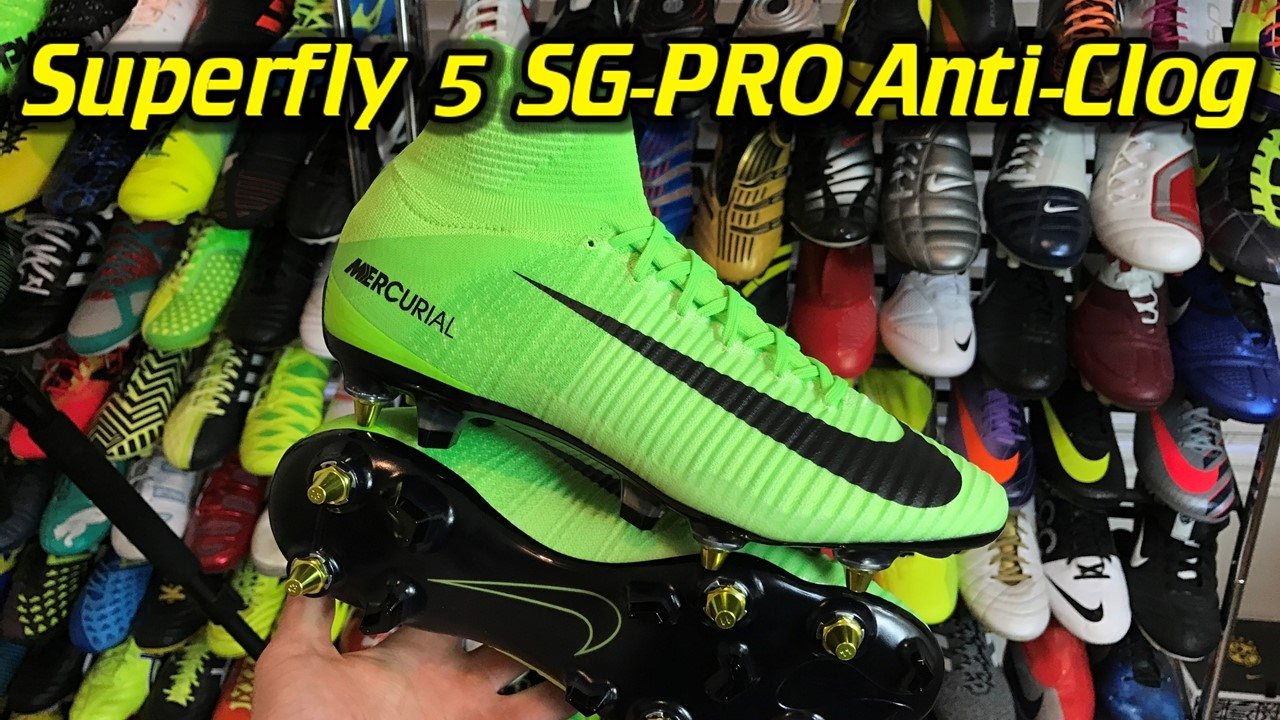 newest 4e050 11f74 Anti-Clog Nike Mercurial Superfly 5 SG-Pro (Radiation Flare Pack) - One  Take Review + On Feet