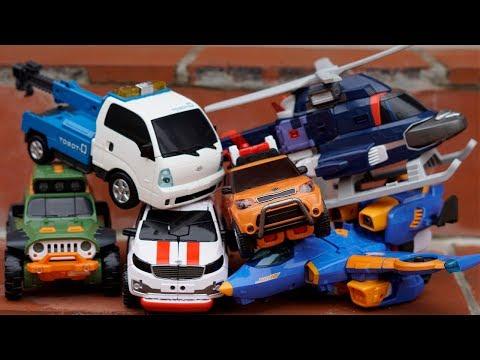 Tobot Adventure X Y Z Transformers Robot Car Toys Superhero Kids Robocar Color Carbot Rescue Trucks