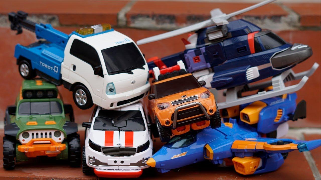 Tobot Adventure X Y Z Transformers Robot Car Toys Superhero Kids
