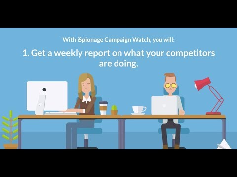 iSpionage Campaign Watch - Competitive Intelligence delivered to straight to your inbox