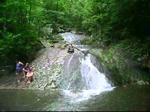 Roaring Run Falls VA - YouTube