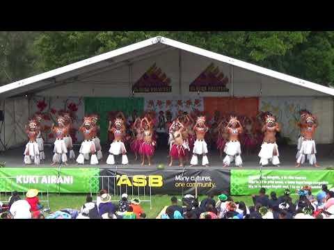 Polyfest 2018 - Mangere College -  Cook Islands Stage