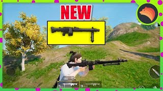 NEW WEAPON In PUBG MOBILE