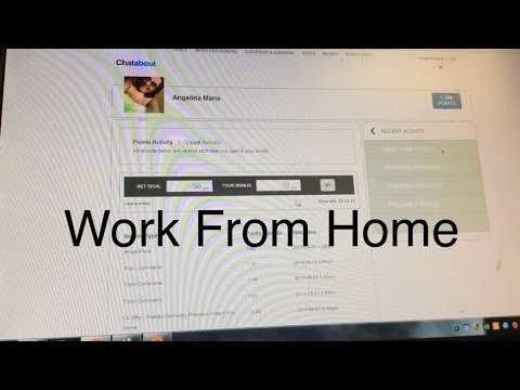 Chat job working from home