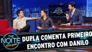 The Noite (15/07/15) - Exclusivo web: João Neto e Frederico comentam primeiro encontro com Danilo