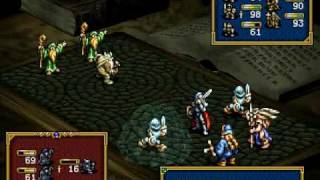 Ogre Battle MOTBQ (PSX) - Boss Series : USAR (2)