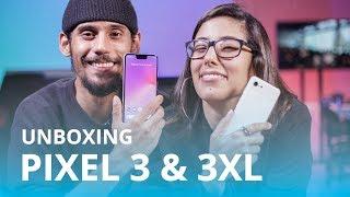 Google Pixel 3 e Pixel 3 XL [Unboxing / Hands-on]