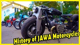 History of JAWA Motorcycles. Most Popular Motorcycles in Soviet. Best Vintage Motorcycles Show
