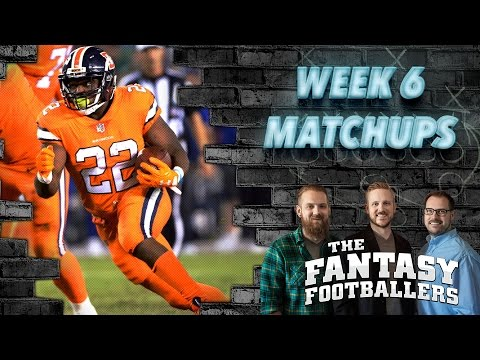 Fantasy Football 2016 - Week 6 Matchups, Daily Dose, In-or-Out - Ep. #286