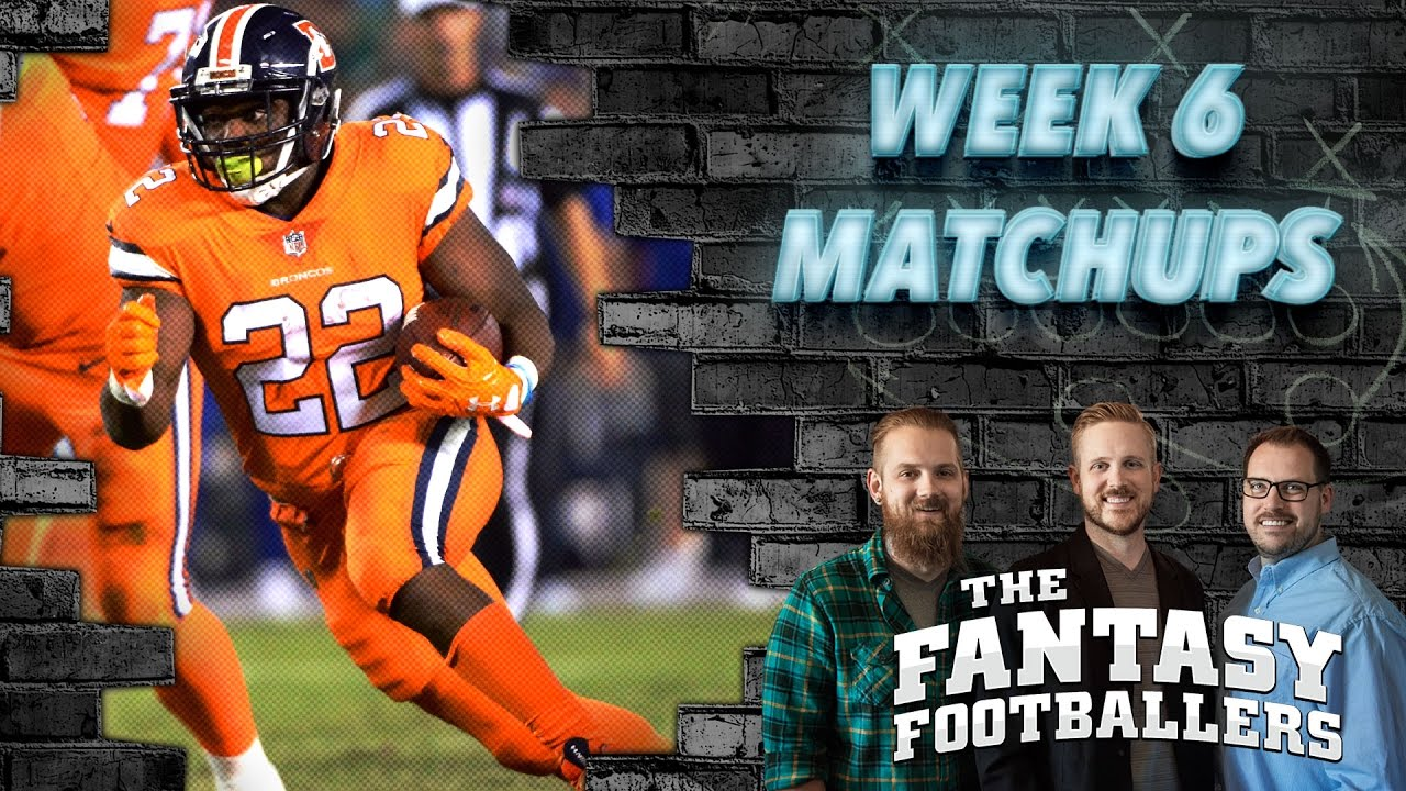 Download Fantasy Football 2016 - Week 6 Matchups, Daily Dose, In-or-Out - Ep. #286