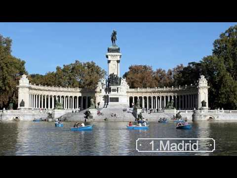 Top 10 Cities of Spain 2017.Top Ten Biggest Cities in Spain 2017
