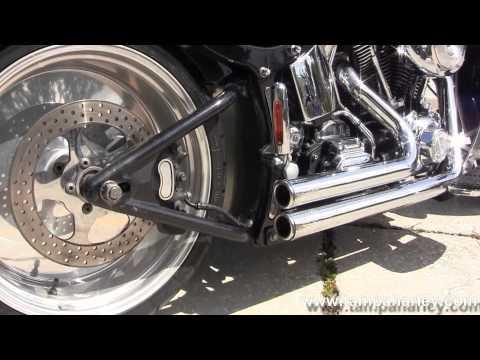 Used 2002 HarleyDavidson Fatboy FLSTF Motorcycle For Sale in Iowa