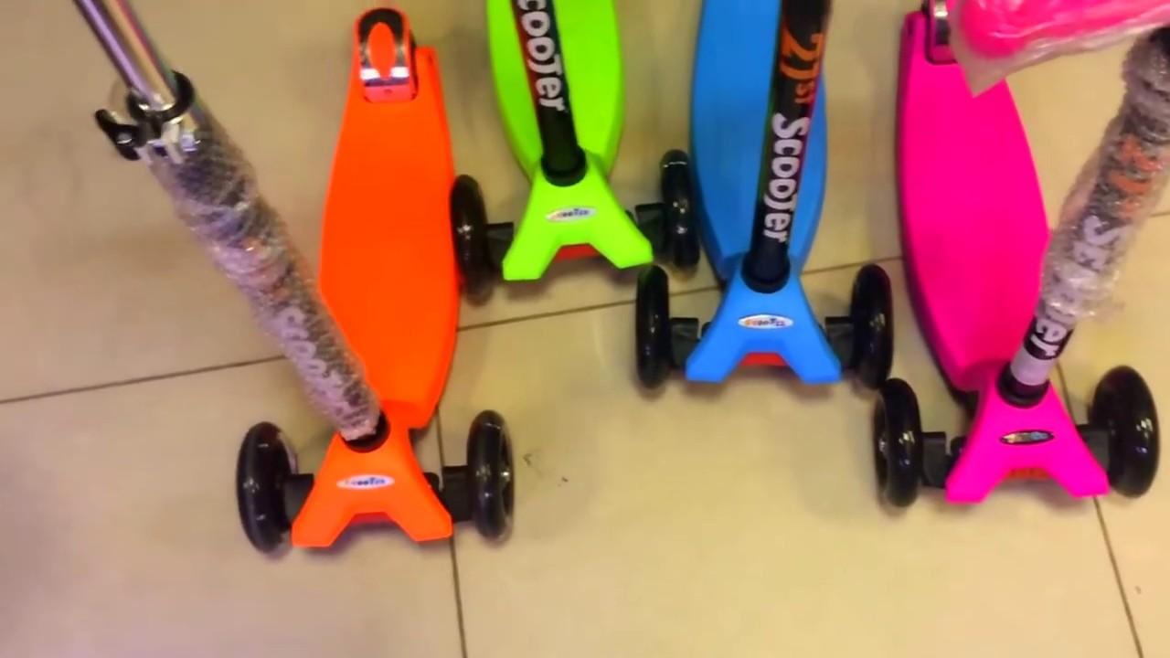 Самокаты в интернет магазине детский мир по выгодным ценам. Большой выбор детских самокатов, акции, скидки.