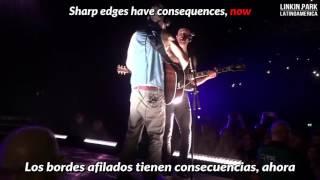 Sharp Edges - Linkin Park (Subtitulado Inglés - Español ) (LIVE)