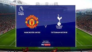 Man United Vs Tottenham (COM Vs COM) Premier League 2019