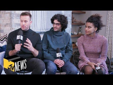 Armie Hammer, Zazie Beetz & Babak Anvari on 'Wounds' & 'Joker' | MTV News | #Sundance