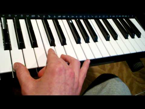 How to Play Runaway by Bon Jovi on Keyboard (QUICK - HD)