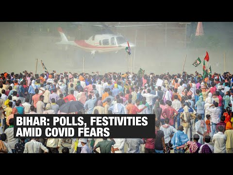 Bihar elections 2020: COVID-19 norms go for a toss amid intense campaigning | Economic Times