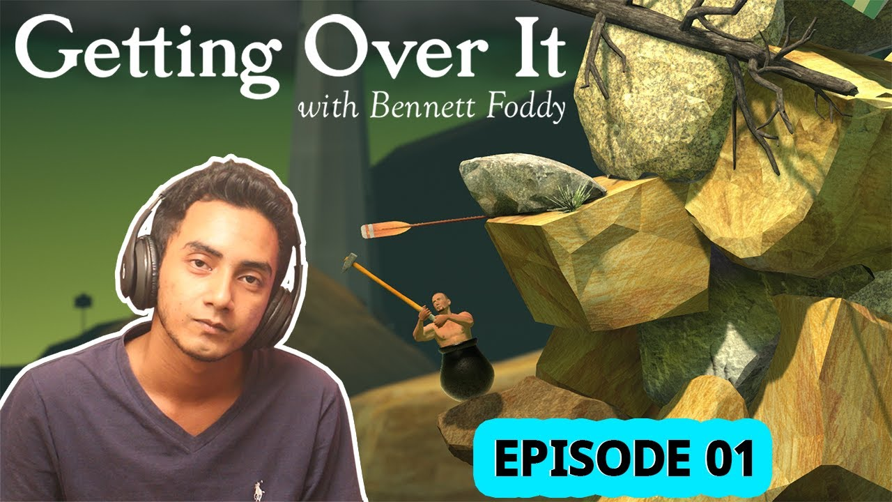 Getting Over It | Live Highlights | Episode 01 | Joker Production Gaming | Maruf Ahmed Masum
