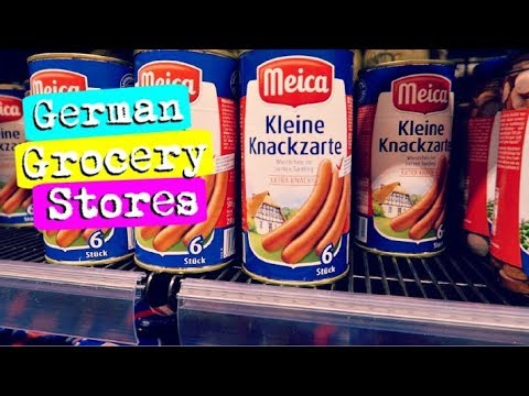 😱 HOW EXPENSIVE IS GERMAN FOOD? German Grocery Store Tour + Vegan & Vegetarian Options! 😍