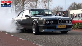 1200HP BMW 635 CSi with 7675 Precision Turbo - Burnouts, Flyby & Loud Accelerations!