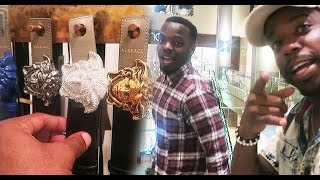 $1000 BELT! Buying My 1st Expensive Designer Belt & Heat With My Brother Sneaker Vlog Ep.42