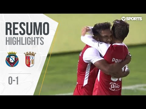 Resumo | Highlights: Felgueiras 0-1 Sp. Braga (Taça de Portugal 18/19 #3)