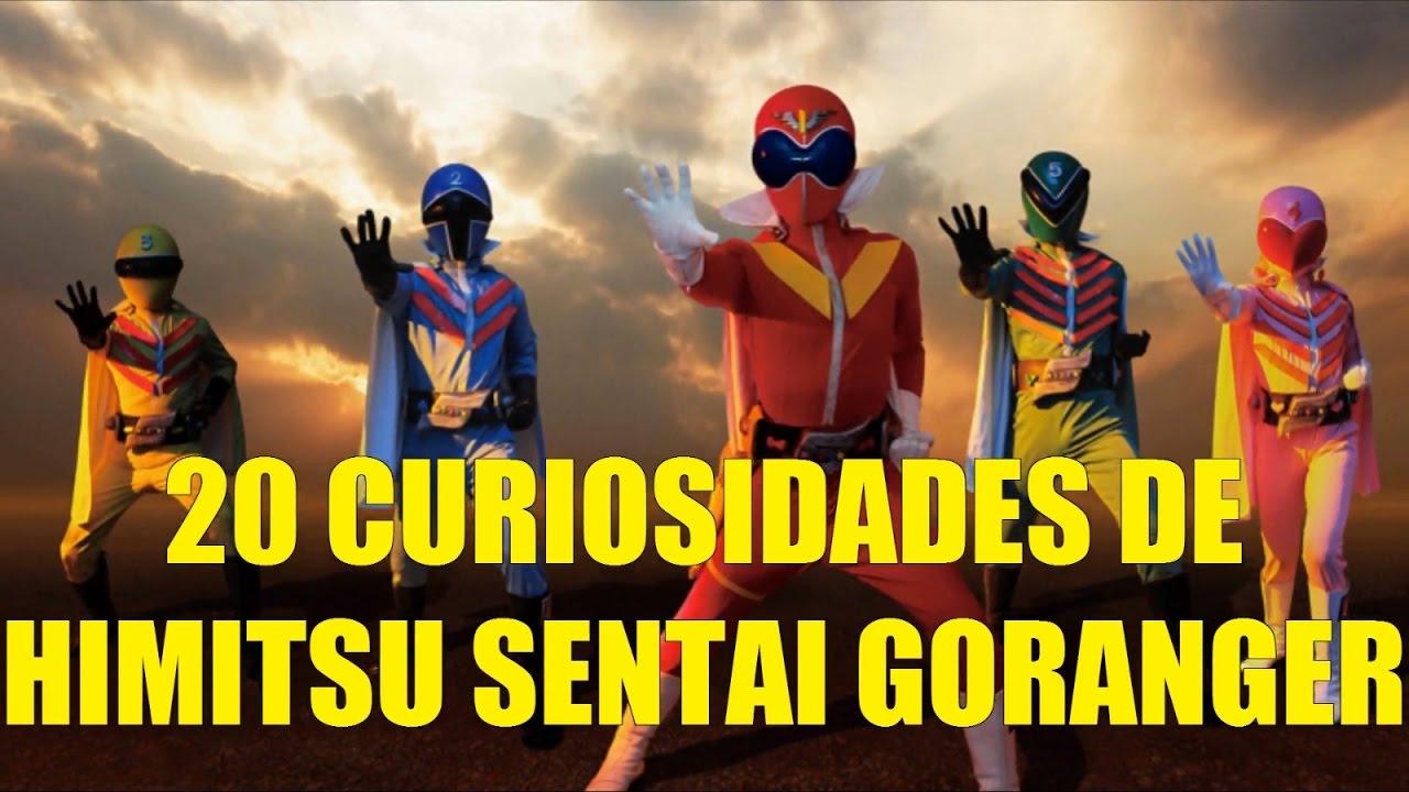 20 Curiosidades de Himitsu Sentai GoRanger Super Sentai 1 Primer (Power  Rangers Japoneses)