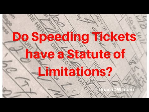 Do Traffic Tickets Have A Statute Of Limitations?